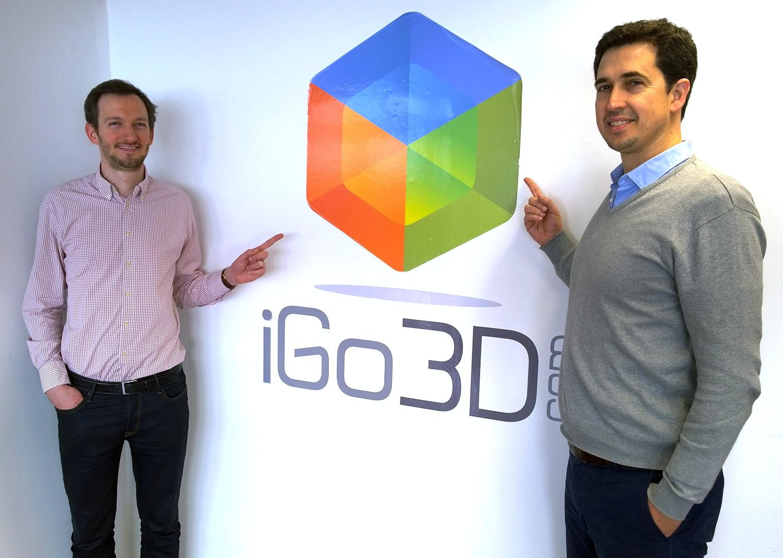 Diogo Quental geht gemeinsamen Weg mit iGo3D
