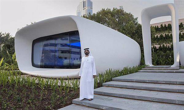 Dubai druckt Haus der Zukunft in nur 17 Tagen