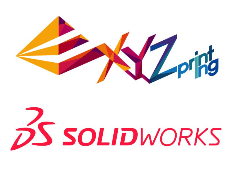 XYZprinting Produkte zukünftig mit Solidworks Software
